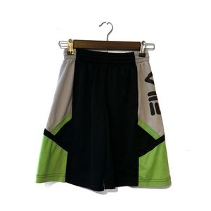 Fila Qwick dry basketball shorts boys 10/12